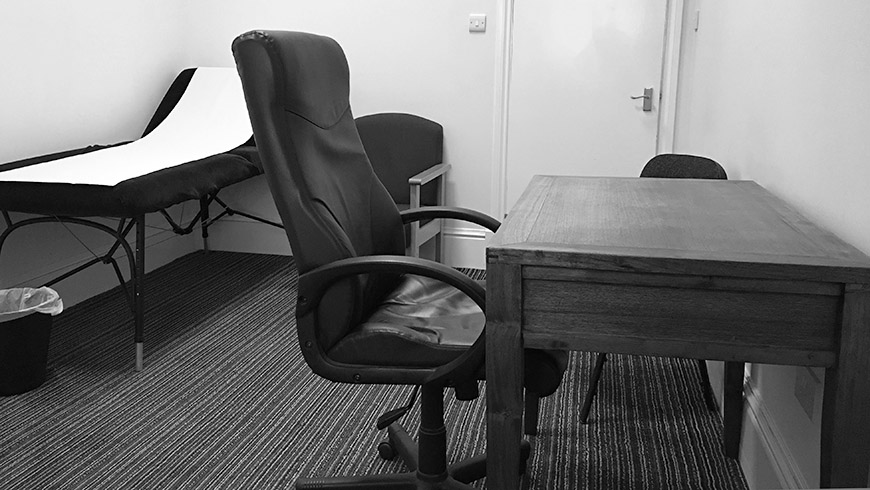 Room hire for Medico Legal work